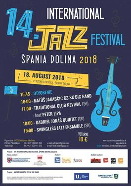 14. International Jazz Festival Špania Dolina ´2018, 18.8.2018 16:00