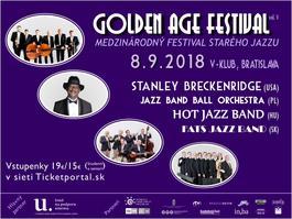 GOLDEN AGE FESTIVAL 2018, 8.9.2018 19:00