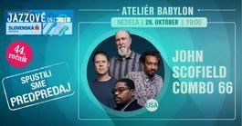 BJD 2018: John Scofield 66 Combo, 28.10.2018 19:00