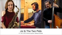 Jul & The Two Pets, 5.10.2018 20:00