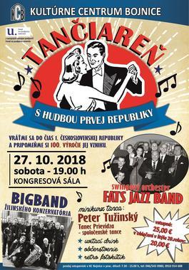 Swingový večer v Bojniciach, 27.10.2018 19:00