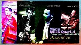 Mário Belák Quartet, 30.9.2018 20:00