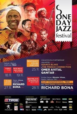 One Day Jazz Festival 2018 - Košice, 18.11.2018 0:00