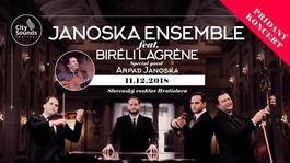 Janoska Ensemble feat. Biréli Lagrène - pridaný koncert, 11.12.2018 18:00