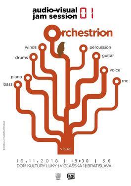 Orchestrion - audio-visual jam session_01, 16.11.2018 19:30