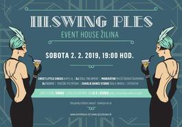III. Swing Ples Event House Žilina, 2.2.2019 19:00