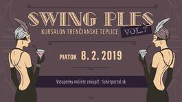 VII. Swing Ples Kursalon Trenčianske Teplice, 8.2.2019 19:00