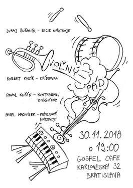 Voľný pád: Koncert v Gospel Cafe , 30.11.2018 19:00
