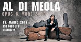 Al Di Meola / Opus & More 2019 / Bratislava, 19.3.2019 20:00