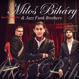 Vianočný koncert Miloš Biháry & Jazz Funk Brothers, 14.12.2018 20:30