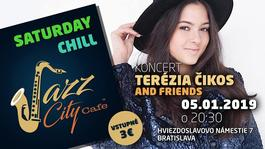 Terézia Čikoš and Friends@Jazz City Cafe, 5.1.2019 20:30