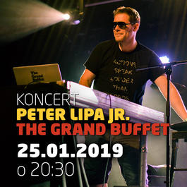 Peter Lipa jr. The Grand Buffet @Jazz City Cafe, 25.1.2019 20:30