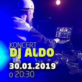 DJ Aldo @JAZZ City Cafe, 30.1.2019 20:30