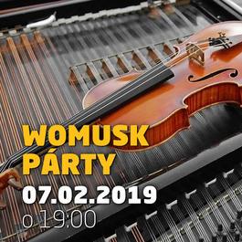 Womusk párty @JAZZ City Cafe, 7.2.2019 19:00