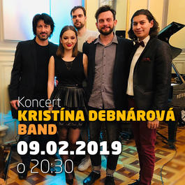 Kristína Debnárová band @Jazz City Cafe, 9.2.2019 20:30