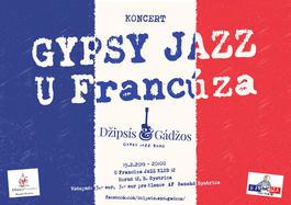 Gypsy jazz u Francúza, 15.2.2019 20:00