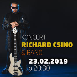 Richard Csino & Band @Jazz City Cafe, 23.2.2019 20:30