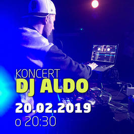 DJ Aldo @JAZZ City Cafe, 20.2.2019 20:30