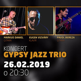 Gypsy Jazz Trio @Jazz City Cafe, 26.2.2019 20:30