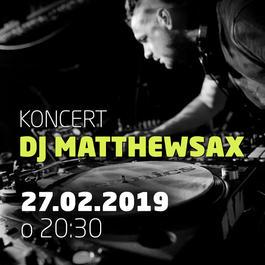 DJ MatthewSax @JAZZ City Cafe, 27.2.2019 20:30