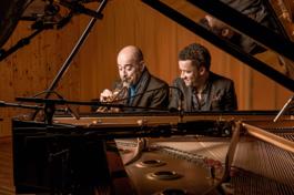 Koncert: JACKY TERRASSON & STEPHANE BELMONDO, WIENER KONZERTHAUS, 27.4.2019 19:30