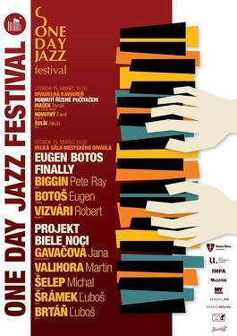 Žilina: Jarný One Day Jazz Festival 2019, 19.3.2019 19:00