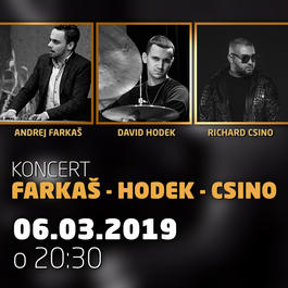 Farkaš-Hodek-Csino@Jazz City Cafe, 6.3.2019 20:30