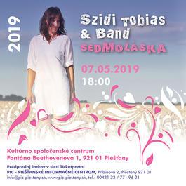 """Szidi Tobias & Band – """"Sedmoláska 2019"""", 7.5.2019 18:00"""