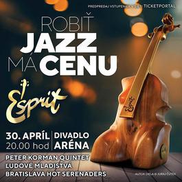 Esprit - udeľovanie cien za jazz s koncertom, 30.4.2019 19:50