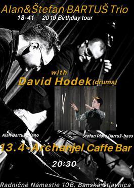 Alan&Stefan Bartus Trio, 13.4.2019 20:00