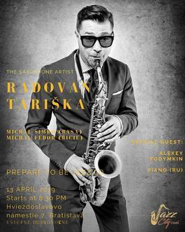 Tariška-Podymkin Quartet, 13.4.2019 20:30