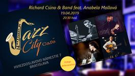 Richard Csino & Band feat. Anabela Mollová @JAZZ City Cafe, 19.4.2019 20:30
