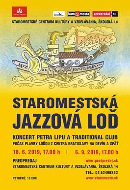 Staromestská jazzová loď 2019, 18.6.2019 17:00