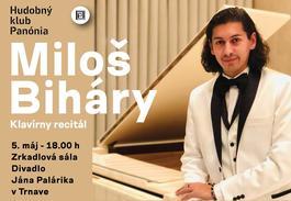 Miloš Bihary- Klavirny Recital, 5.5.2019 18:00