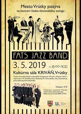 Swingový večer vo Vrútkach, 3.5.2019 18:00