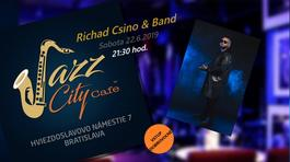 Richard Csino & Band @Jazz City Cafe, 22.6.2019 21:30