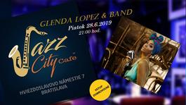 Glenda Lopez & Band @Jazz City Cafe, 28.6.2019 21:30