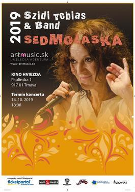 Szidi Tobias & Band – Sedmoláska 2019, 14.10.2019 18:00