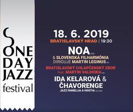 One Day Jazz Festival: Noa - Bratislavský hrad, 18.6.2019 19:30