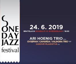 One Day Jazz Festival: Ari Hoenig Trio v Bratislave, 24.6.2019 19:00