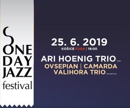 One Day Jazz Festival: Ari Hoenig Trio v Košiciach, 25.6.2019 19:00