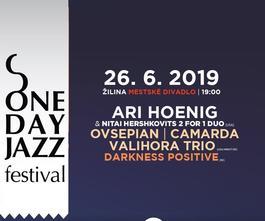 One Day Jazz Festival: Ari Hoenig & Nitai Hershkovits v Žiline, 26.6.2019 19:00
