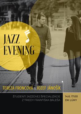 Koncert absolventov jazzovej špecializácie v DK Lúky, 14.6.2019 17:00