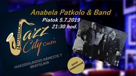 Anabela Patkolo & Band @Jazz City Cafe, 5.7.2019 21:30
