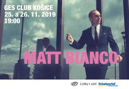 MATT BIANCO, 25.11.2019 19:00