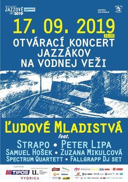 Otvárací koncert jazzákov vo Vodnej veži, 17.9.2019 19:00