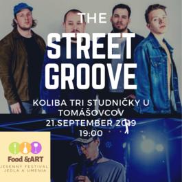 The Street Groove na Kolibe Tri Studničky v rámci Food&ART jesenného festivalu, 21.9.2019 19:00