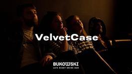 Koncert: Velvet Case, Bukowski bar, 12.9.2019 19:30