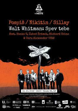 Walt Whitman - Spev tebe, 12.10.2019 19:00