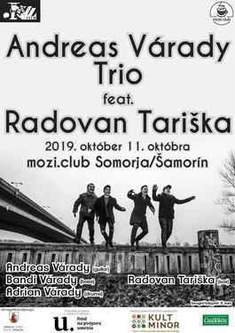 Andreas Várady Trio feat. Radovan Tariška, 11.10.2019 20:00